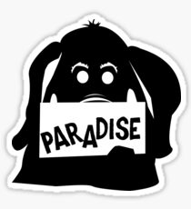 Paradise Elephant Sticker