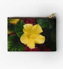 Water on the Hibiscus  Studio Pouch