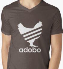 Funny Chicken Adobo Filipino Pinoy Philippines T-Shirt Men's V-Neck T-Shirt