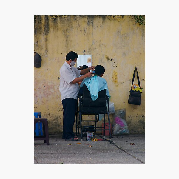 Short, back and sides Photographic Print