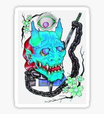 KEEPIN EM ON LOCK - BLU Sticker