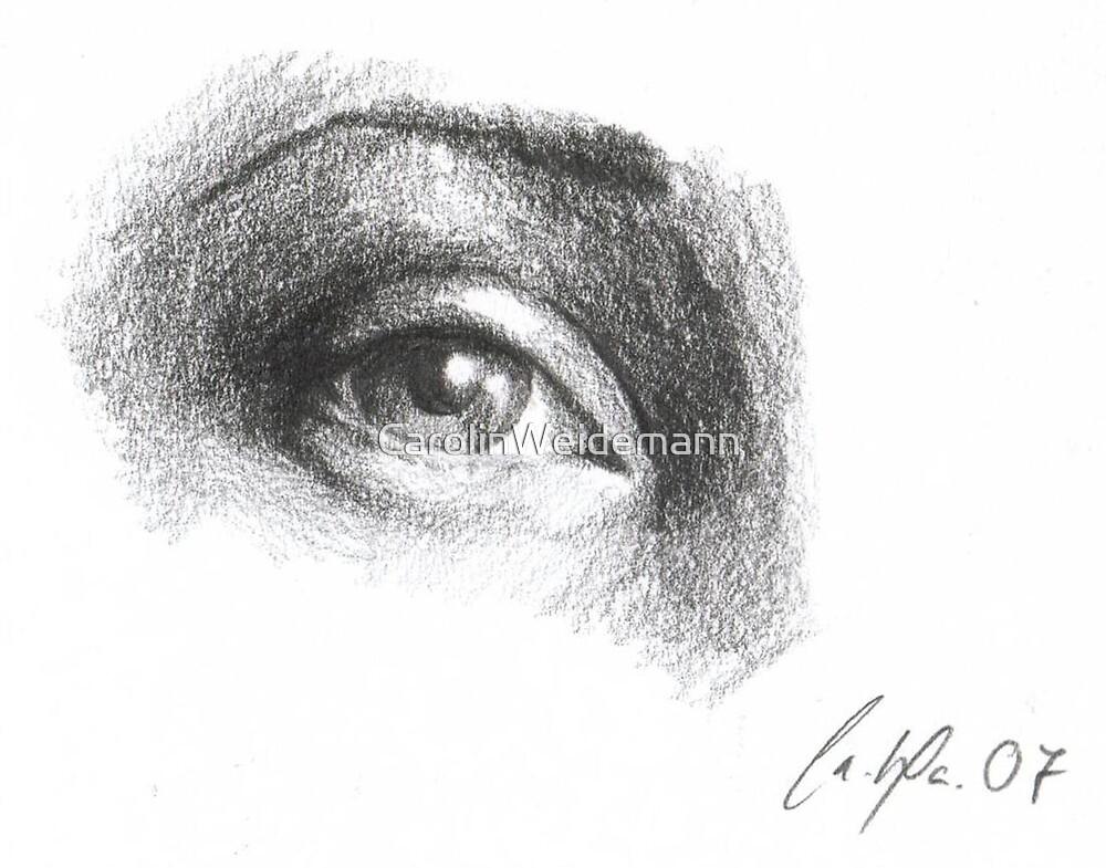Das Auge by CarolinWeidemann