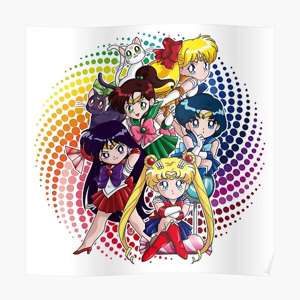 Sailor moon - Chibi Candy Edit. (White) Poster
