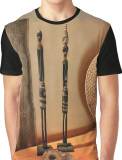 African figurines Graphic T-Shirt