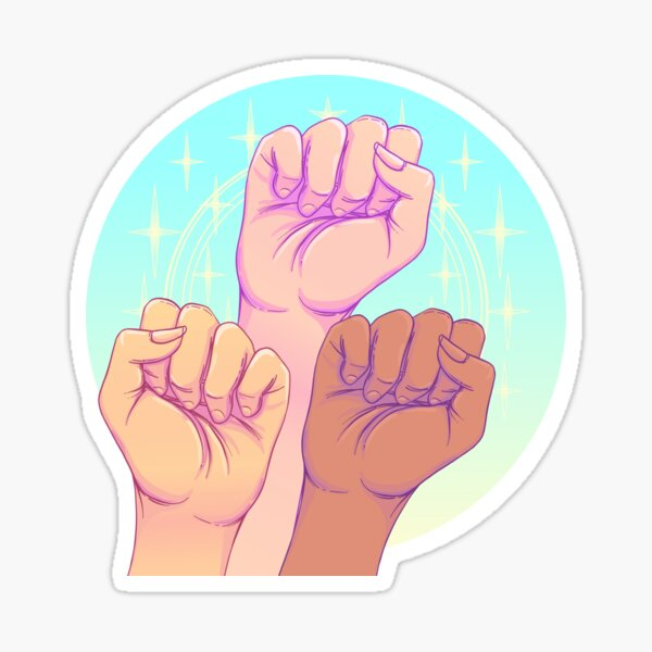 Women Can Together Sticker