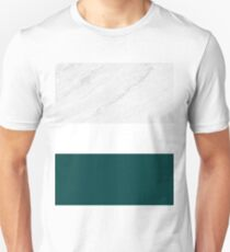Marble And Teal Unisex T-Shirt