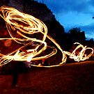 medieval fire show by venkman