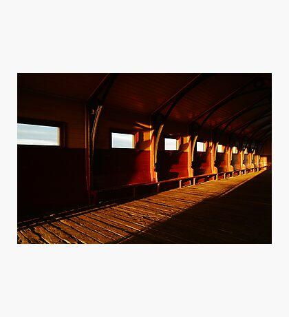Queenscliff Pier Charm Photographic Print
