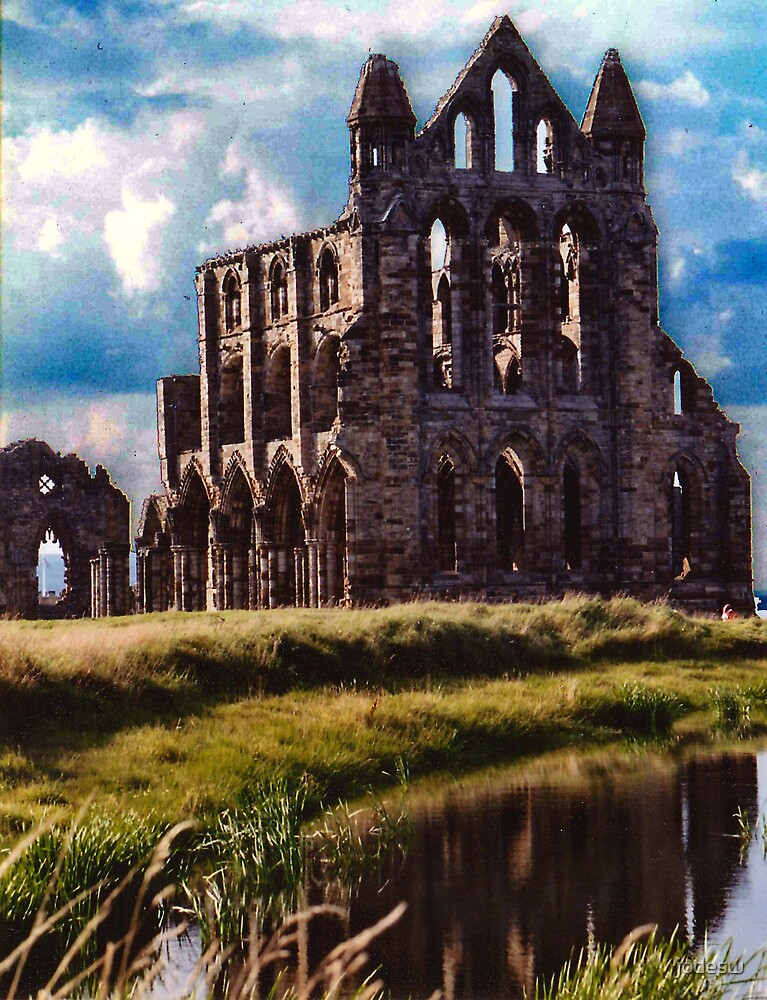 Old Cathedral at Whitby, England by Jodi Webb