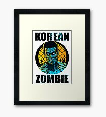 korean zombie Framed Print