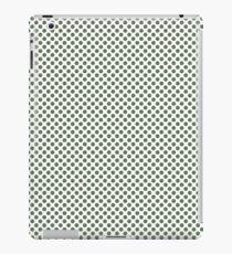 Vineyard Green Polka Dots iPad Case/Skin