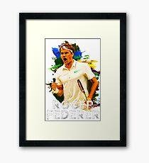 Lámina enmarcada Roger Federer