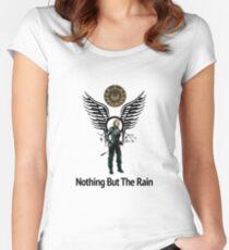 Battlestar Galactica - Starbuck - Bring On The Rain  Women's Fitted Scoop T-Shirt