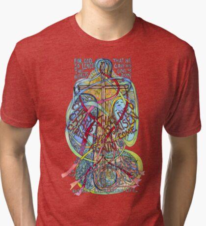 Christ is Risen Tri-blend T-Shirt