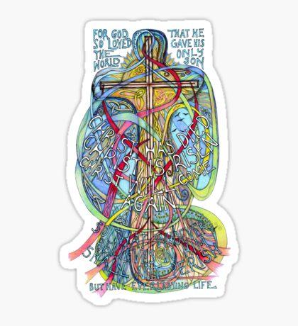 Christ is Risen Sticker