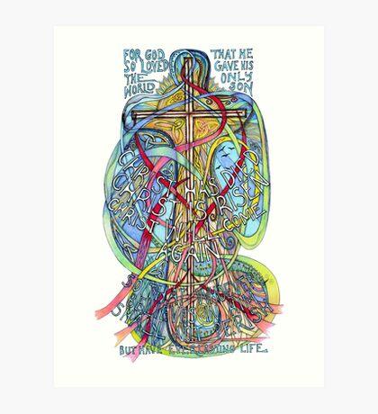 Christ is Risen Art Print