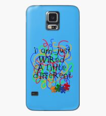 Autism Awareness .. wired a little different Case/Skin for Samsung Galaxy