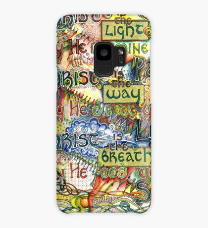 Christ is the Light Case/Skin for Samsung Galaxy