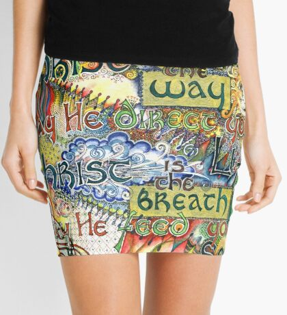 Christ is the Light Mini Skirt