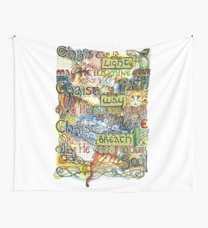 Christ is the Light Wall Tapestry