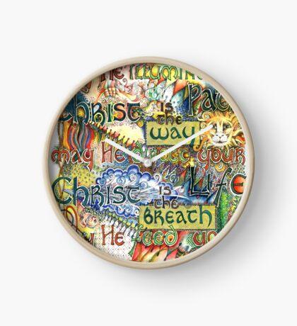 Christ is the Light Clock