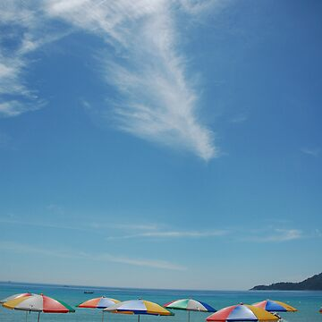 Beach at Perhentian Island by zoule