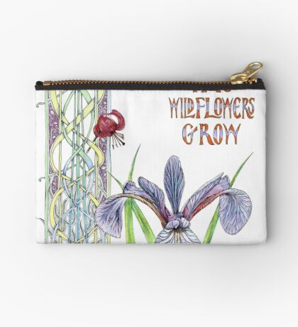 Consider the Wild Flowers Studio Pouch