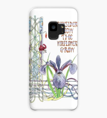 Consider the Wild Flowers Case/Skin for Samsung Galaxy