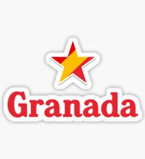 Stars of Spain - Granada Sticker