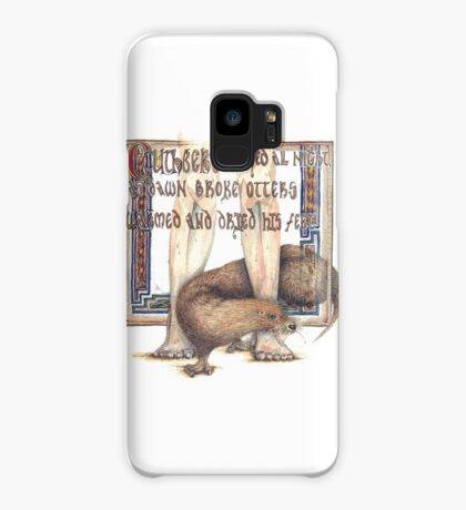 St. Cuthbert and the Otter Case/Skin for Samsung Galaxy