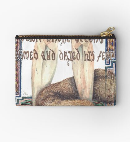 St. Cuthbert and the Otter Studio Pouch