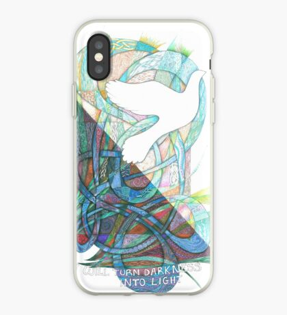 Darkness into Light iPhone Case