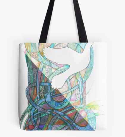 Darkness into Light Tote Bag