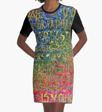 David's Praise Graphic T-Shirt Dress