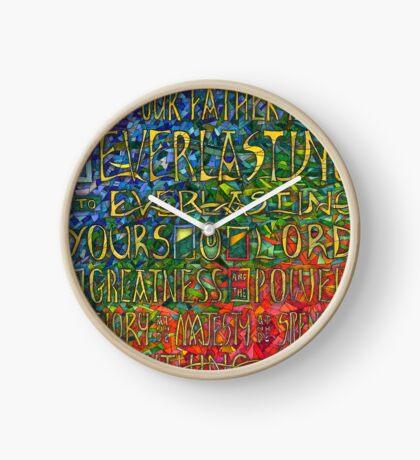 David's Praise Clock