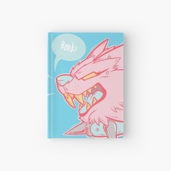 - Bork Warwulf - [Pastel Close-Up] Hardcover Journal