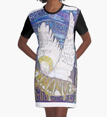 Emmanuel Graphic T-Shirt Dress