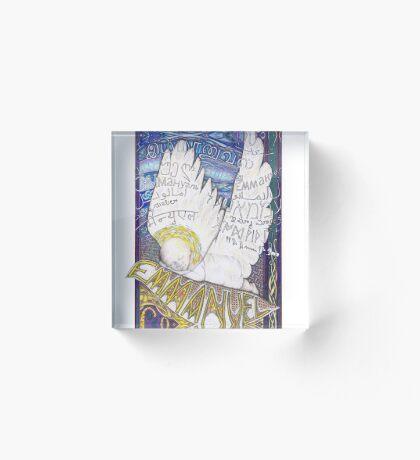 Emmanuel Acrylic Block