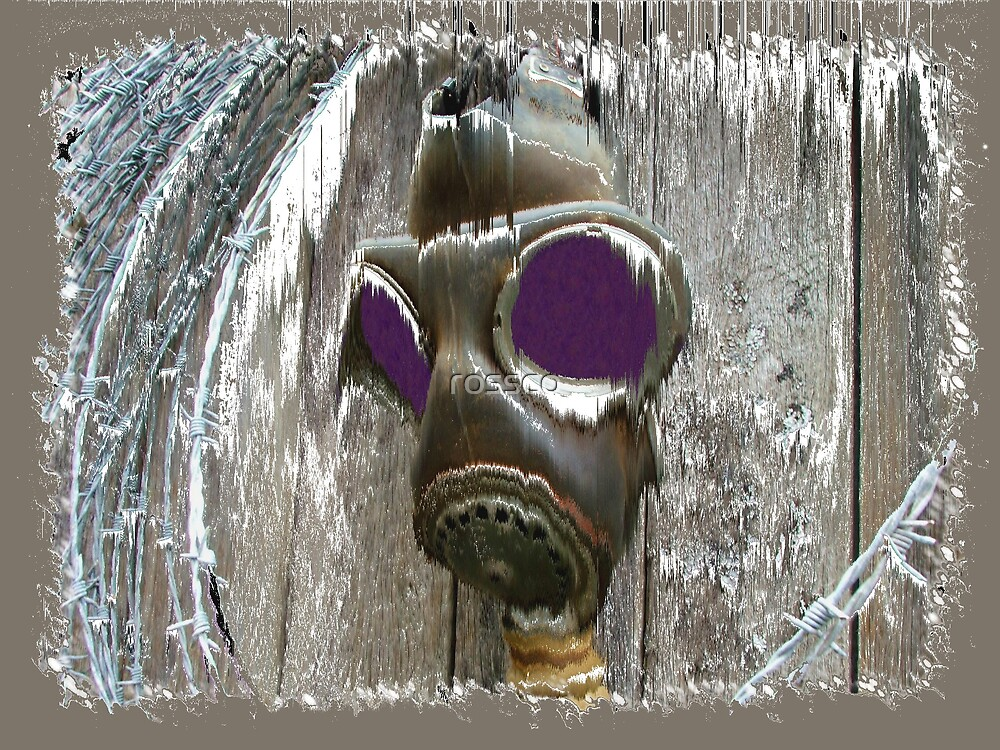 The Gas Mask by rossco