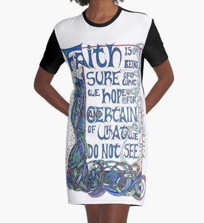 Faith Graphic T-Shirt Dress