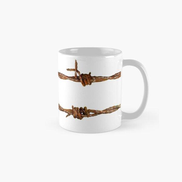 Rusty Barbed Wire Classic Mug