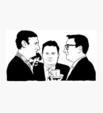 HARRY, SPIKE, PETER & MIKE Photographic Print