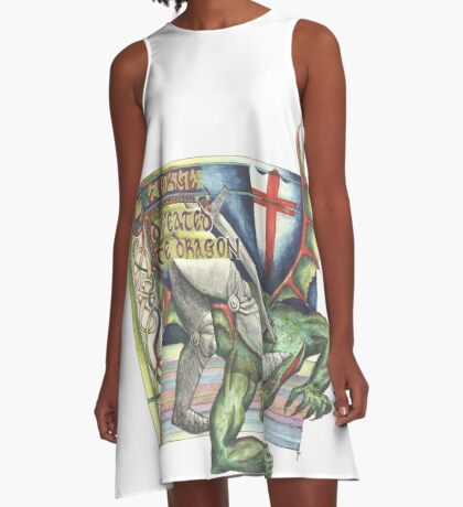 St. George and the Dragon A-Line Dress
