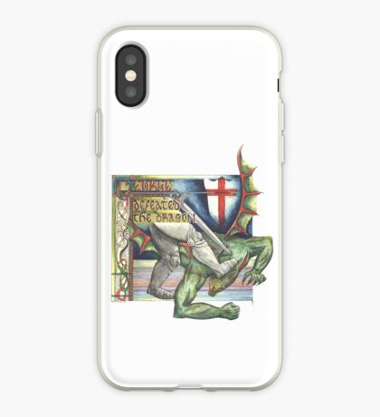 St. George and the Dragon iPhone Case