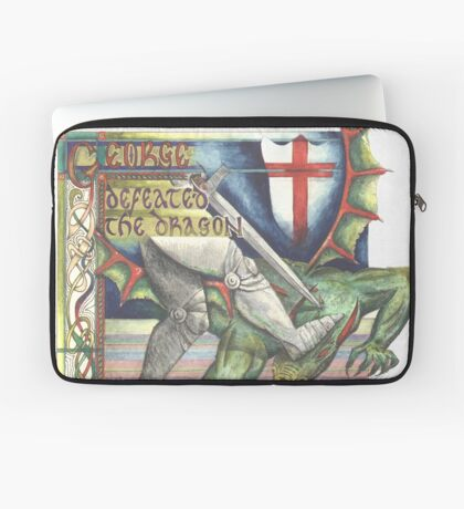 St. George and the Dragon Laptop Sleeve