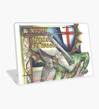 St. George and the Dragon Laptop Skin