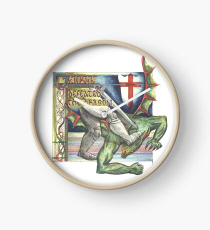 St. George and the Dragon Clock