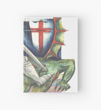 St. George and the Dragon Hardcover Journal