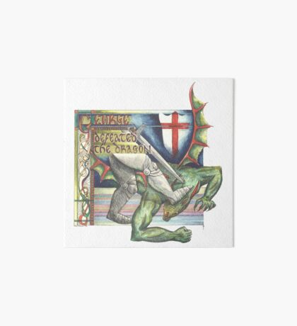 St. George and the Dragon Art Board