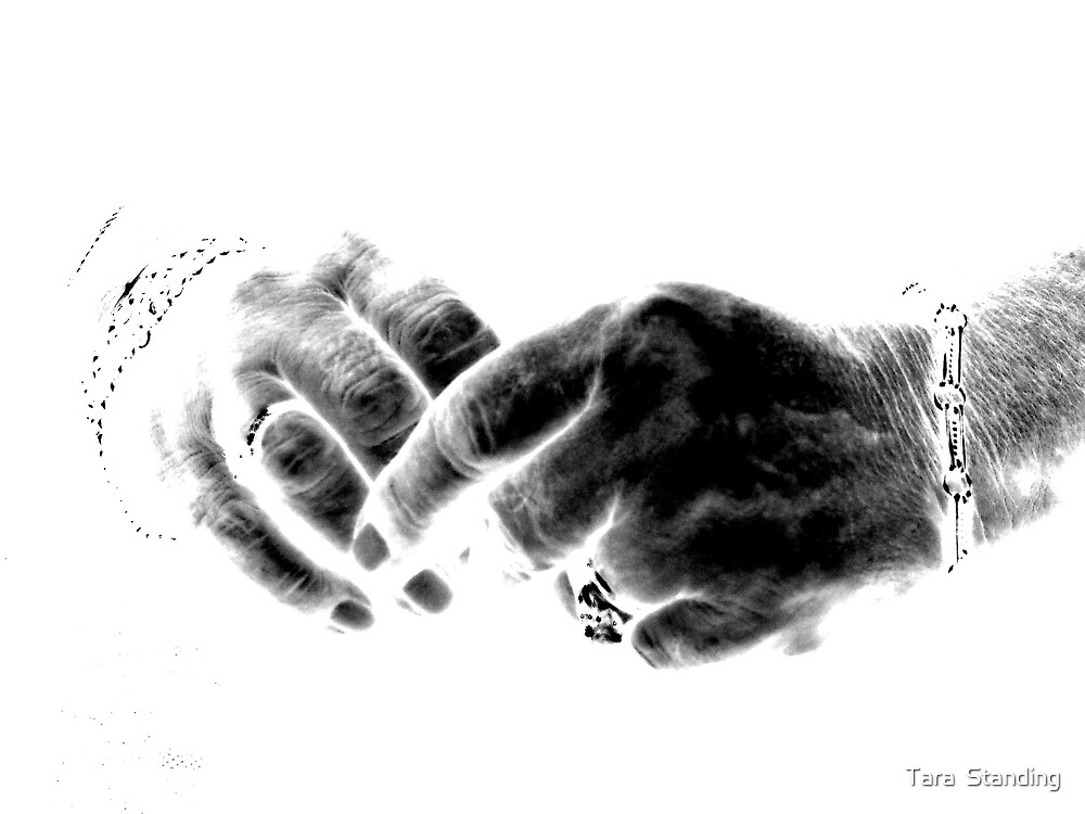 """""""The hands that nursed me #2"""" by Tara  Standing"""